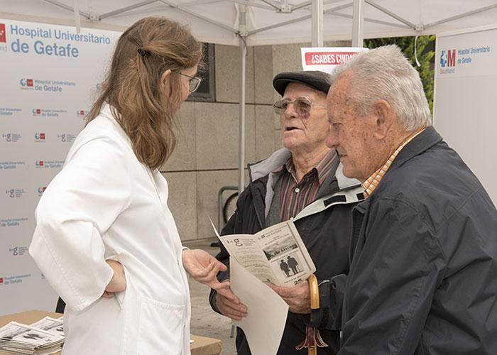 El Hospital de Getafe desarrolla un sistema online para mejorar el tratamiento de las personas mayores