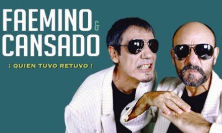 El Teatro Federico García Lorca acoge el nuevo espectáculo 'Quien tuvo retuvo' de Faemino y Cansado