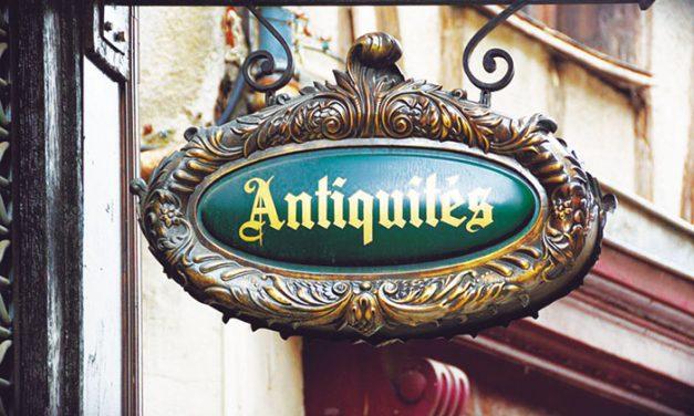 Antigüedades en la decoración