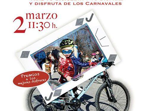 Bicicletada Carnavalesca 2019, divertida apuesta por el desarrollo sostenible en Pinto