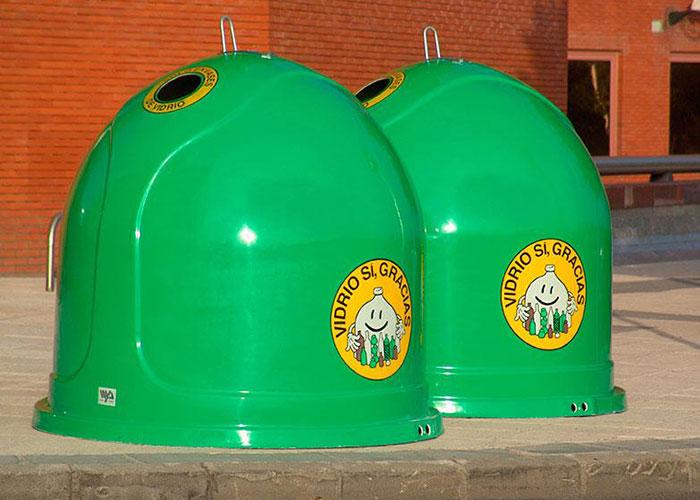 Pinto refuerza el reciclaje de vidrio con más contenedores