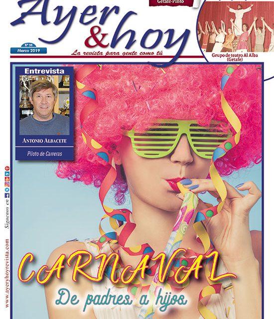 Ayer & hoy – Getafe-Pinto – Revista Marzo 2019