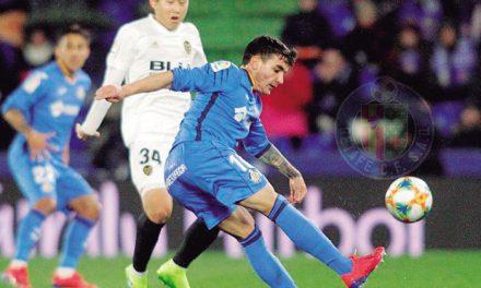 El Getafe sigue su camino de goles pese a la caída copera