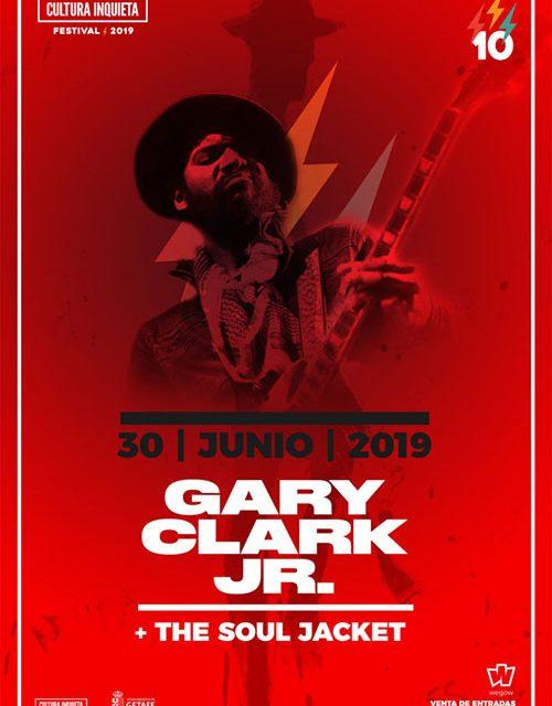 Gary Clark Jr. actuará en el Festival Cultura Inquieta 2019