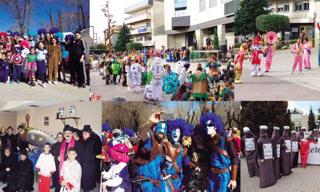 Carnaval de padres a hijos