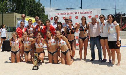 Getafe acogerá nuevamente el Campeonato de España de selecciones autonómicas juveniles de balonmano playa