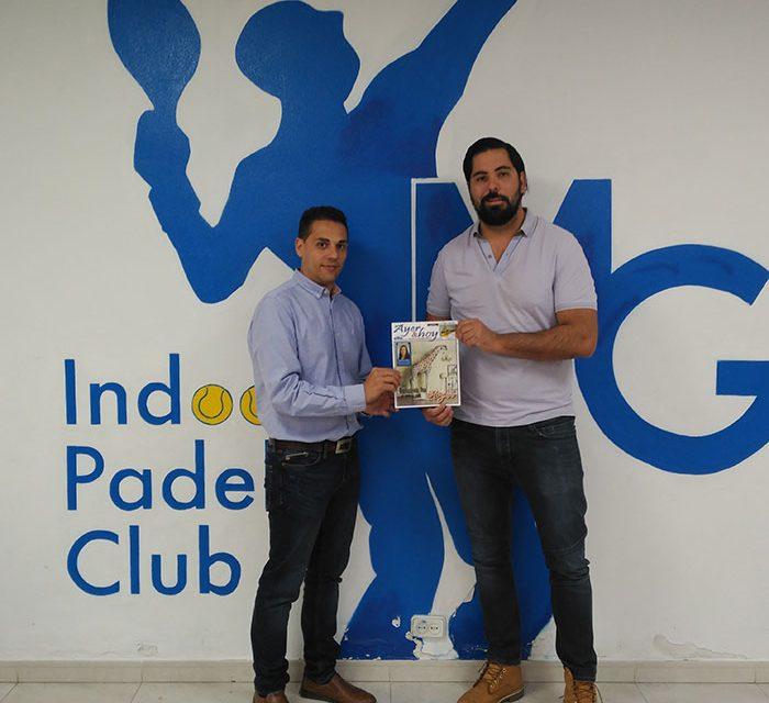 Acuerdo de colaboración entre la revista Ayer y Hoy y MG Indoor Padel Club