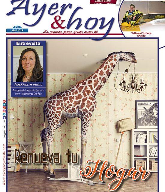 Ayer & hoy – Getafe-Pinto – Revista Abril 2019