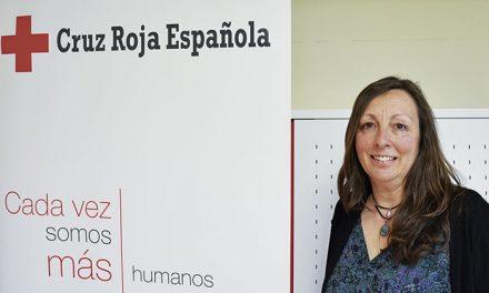 Pilar Cárdenas Sobrino, presidenta de la Asamblea Comarcal Pinto-Valdemoro de Cruz Roja