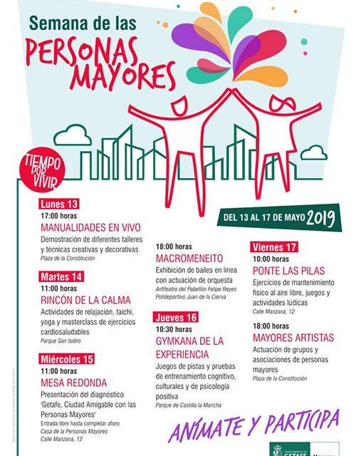 Getafe celebra la Semana de las Personas Mayores