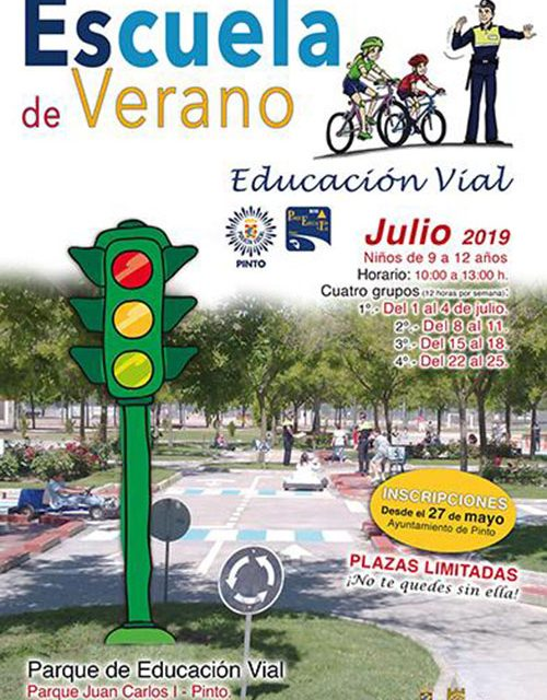 Escuela de Verano de Educación Vial para jóvenes ciclistas