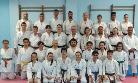 El club AJLA Karate de Pinto, premiado en la gala de los 40 años de la Federación Española