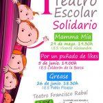 Pinto presenta la I Muestra Solidario de Teatro Escolar