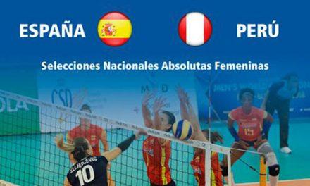 Voleibol internacional en Pinto con las selecciones absolutas femeninas de España y Perú