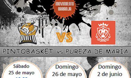 Playoff 1/4 final Primera Autonómica Serie Oro Pintobasket Correa Dental vs. Restaurante Paipai Pureza de María