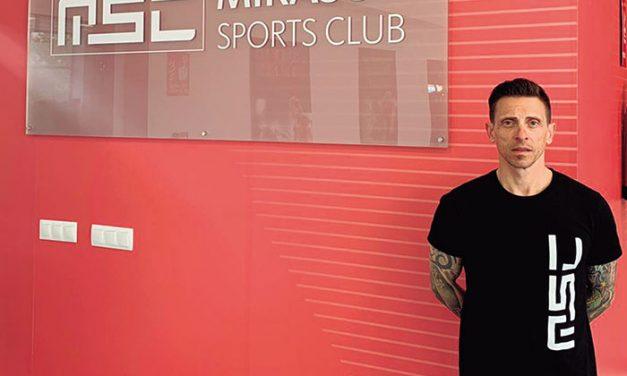 Javier Hernández Alonso, maestro de kárate y subcampeón del mundo senior kata individual