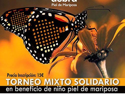 Torneo solidario en PintoPádel a beneficio de niño Piel de Mariposa