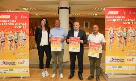 Getafe acogerá el Campeonato de Selecciones Autonómicas SUB18 de Atletismo