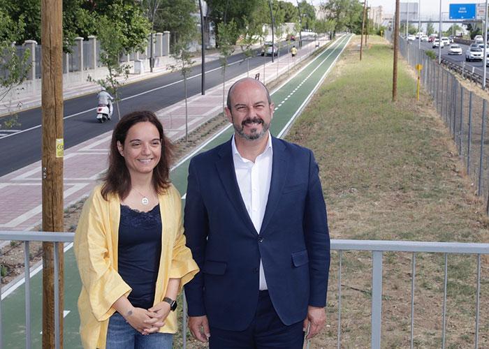 La Comunidad mejora la seguridad vial en Getafe con la reforma integral de la avenida de la Libertad