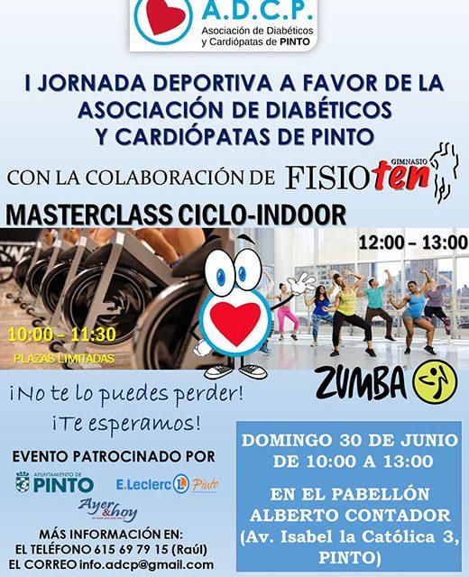 I Jornada deportiva de la Asociación de Diabéticos y Cardiópatas de Pinto