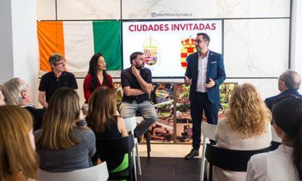 Pinto, en la presentación del Salón Internacional del Chocolate