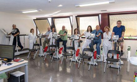 El Programa de Rehabilitación Respiratoria del Hospital Universitario de Getafe ha realizado más de mil sesiones