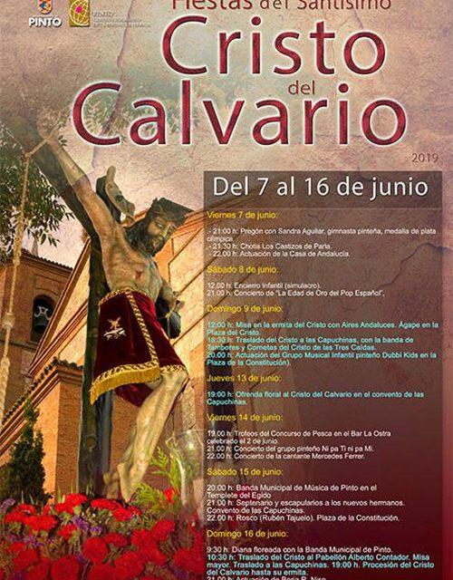 Fiestas del Santísimo Cristo del Calvario 2019 en Pinto
