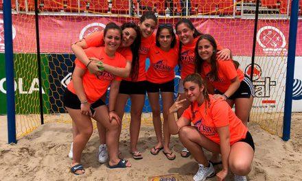El equipo cadete femenino de Getasur se hace con el Arena 1000 de Oropesa