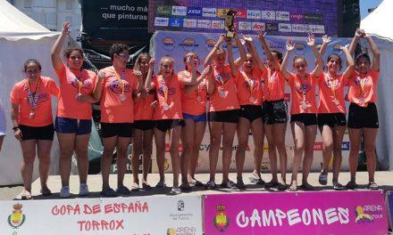 Getasur regresa de la Copa de España con un oro y dos bronces