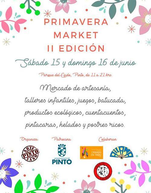 Mercado de Artesanía con talleres y actividades
