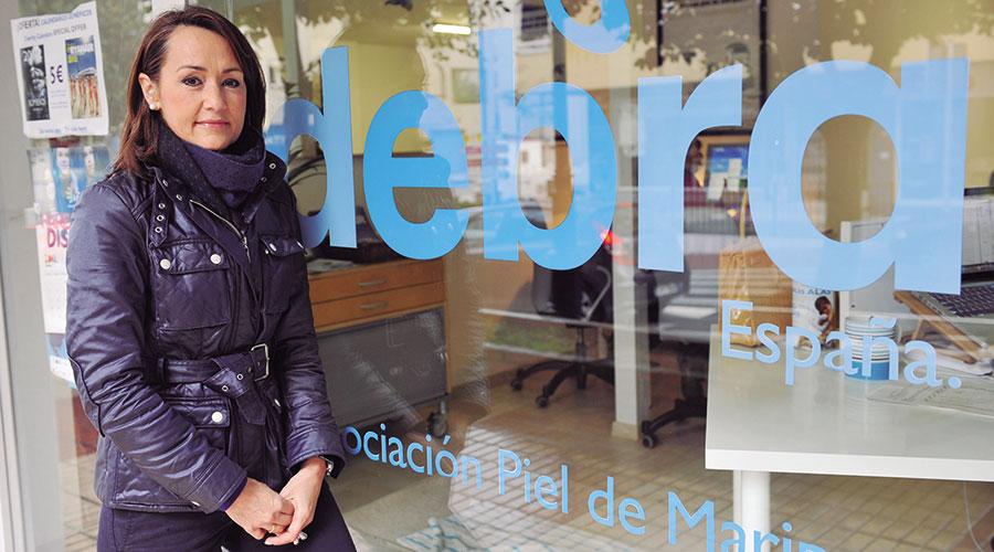 Nieves Montero, presidenta y fundadora de la Asociación Debra Piel de Mariposa