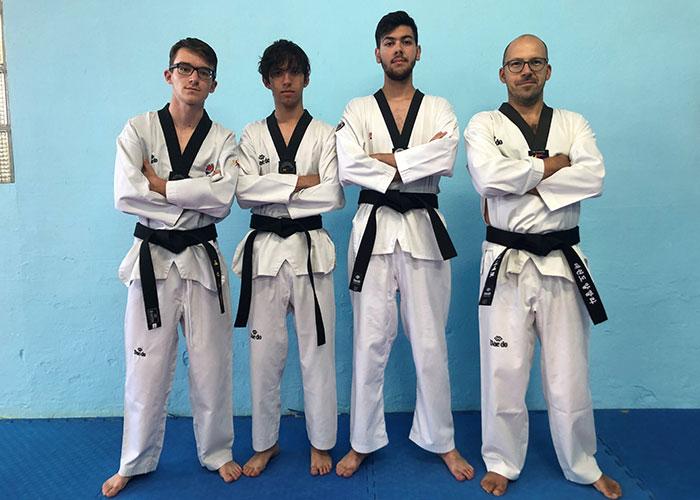 Oro para Carmen Galiano y cuatro nuevos cinturón negro 1º DAN para la Escuela de Taekwondo de Pinto (TDK Alcalá)