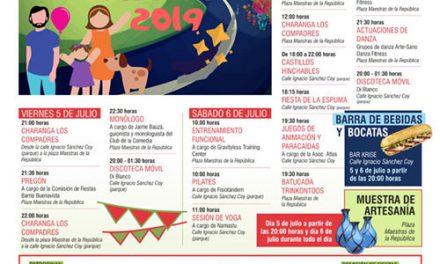 El barrio de Buenavista celebra por primera vez sus Fiestas el próximo fin de semana