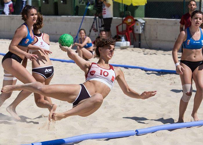 Mañana arranca el Campeonato de España de Selecciones Autonómicas de Balonmano Playa en Getafe