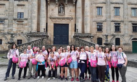 Pacientes de cáncer de mama y profesionales del Hospital de Getafe realizan el Camino de Santiago