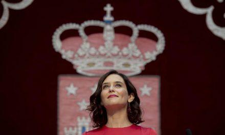 """Díaz Ayuso: """"Tengo la obligación de hacer las cosas bien y de gobernar para todos"""""""