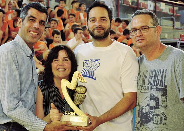 Sergio Reinoso, entrenador en Pintobasket y director deportivo de la Escuela de baloncesto