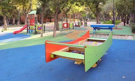 Abierto el Parque Lorenzo Azofra tras las obras de remodelación