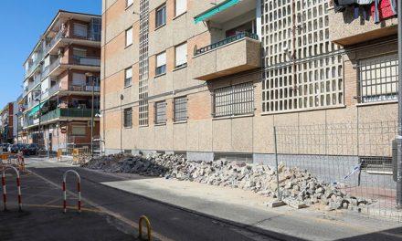 El Ayuntamiento de Getafe lleva a cabo la rehabilitación de la calle Ciudad Real y renovación de la plaza Lisboa