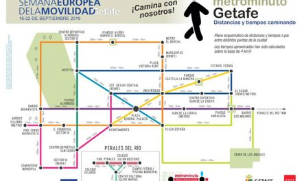 El Ayuntamiento de Getafe pone en marcha el proyecto Metrominuto