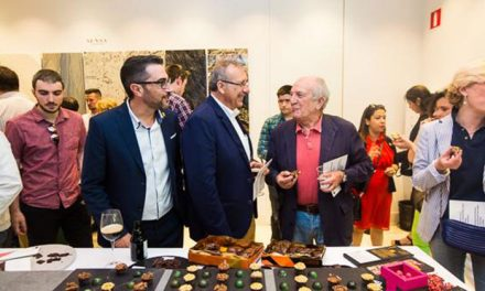Pinto, protagonista en el Salón del Chocolate de Madrid