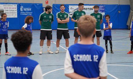 El Complejo Deportivo Municipal Alhóndiga Sector III acoge la tercera edición de School12