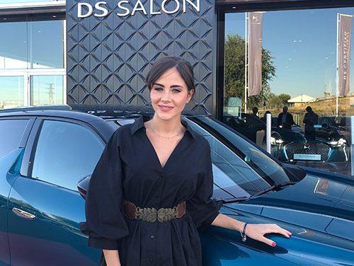 La actriz Lucía Ramos, nueva embajadora del DS3 Crossback y del DS Salón Leganés
