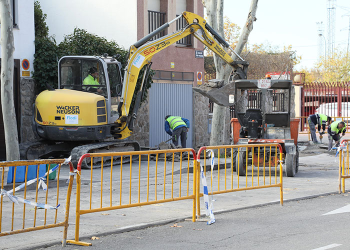Comienzan las obras de remodelación de la calle Juan Francés