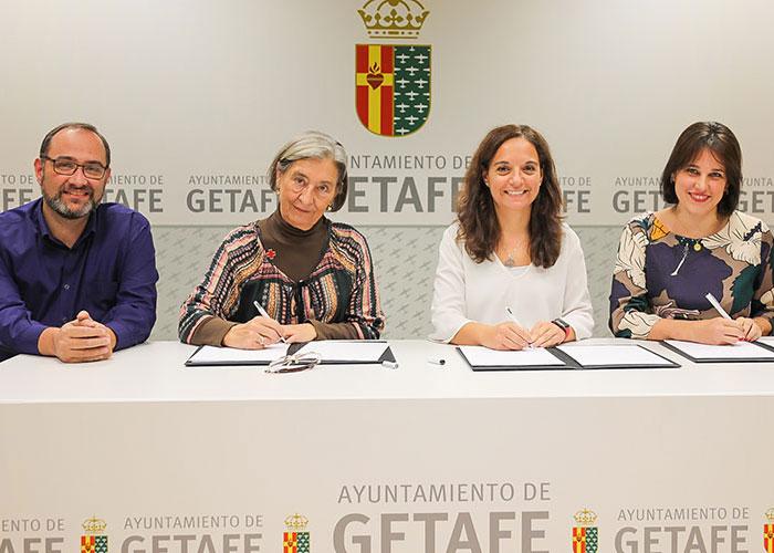 El Ayuntamiento de Getafe y Cruz Roja renuevan el convenio para desarrollar proyectos y actividades sociales