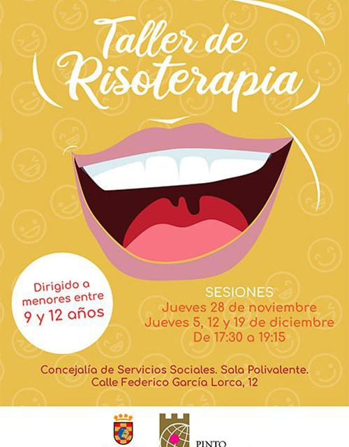 El Ayuntamiento de Pinto ofrece talleres de Risoterapia