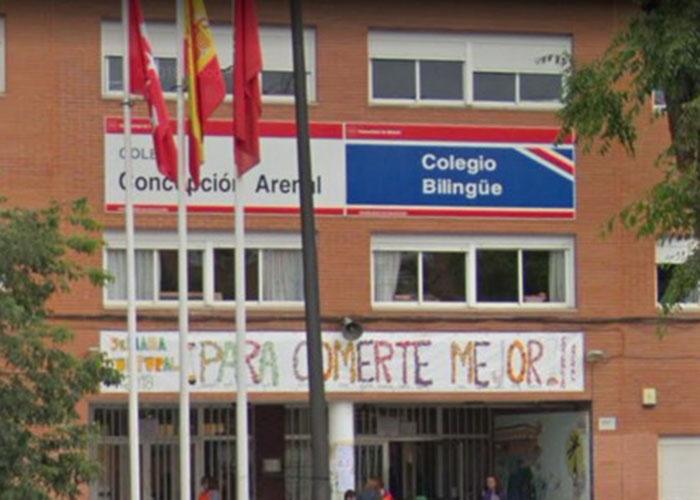 Los niños y niñas del Concepción Arenal volverán el viernes al colegio tras los trabajos de LYMA y Mantenimiento