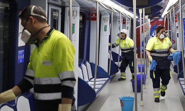 La Comunidad de Madrid aplica medidas extraordinarias para aumentar la seguridad de los viajeros y trabajadores de Metro