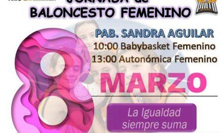 Jornada de baloncesto femenino en el Día de la Mujer