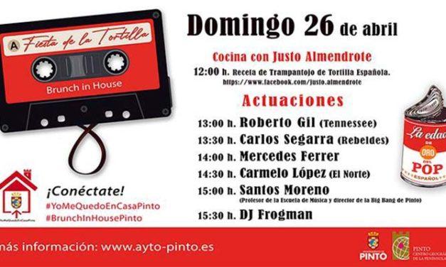La Fiesta de la Tortilla más ochentera, en el #BrunchInHousePinto del domingo